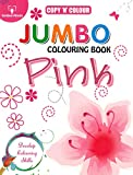 Best Golden Books Book Toddlers - Copy N Colour Jumbo Colouring Book - Pink Review