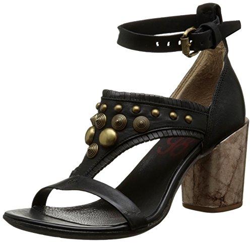 AirstepSou 519003 - Sandali alla caviglia Donna , Nero (Noir (Nero)), 36