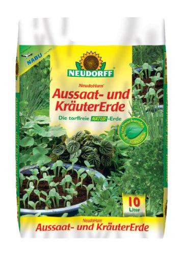 NeudoHum Aussaat- und KräuterErde 10L