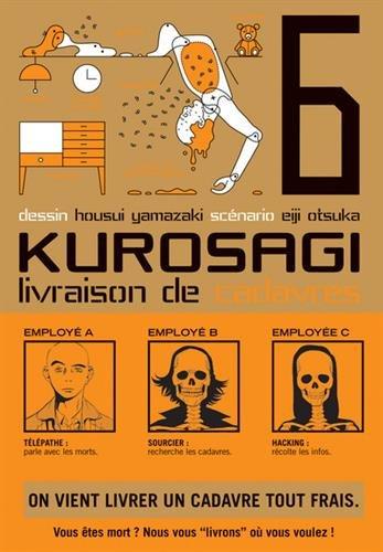 Kurosagi - Service de livraison de cadavres Vol.6 par ÔTSUKA Eiji