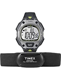 Timex T5K719 Ironman Road - Reloj de pulsera de hombre para deporte (XL, plástico y cuarzo)