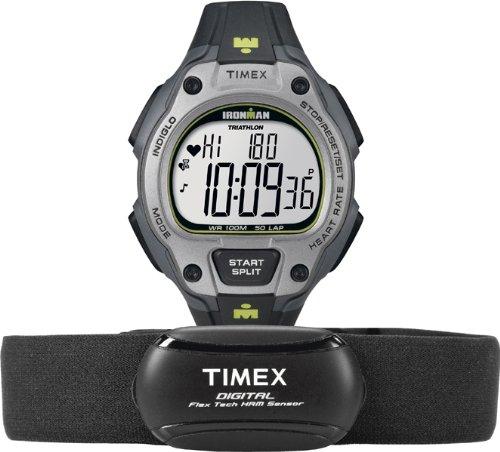 TIMEX T5K719 IRONMAN ROAD - RELOJ DE PULSERA DE HOMBRE PARA DEPORTE (XL  PLASTICO Y CUARZO)