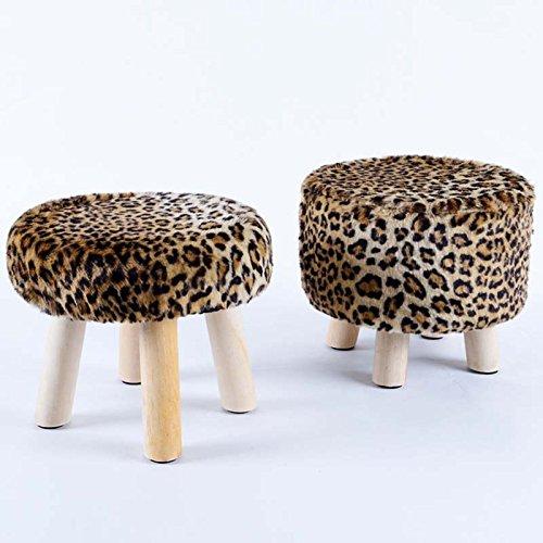 Duo  Computer Tisch Abnehmbare abwaschbare runden Hocker Massivholz Einfache Bank Sofa Hocker Kreative niedrigen Hocker für Schuhe Hocker Sofa Hocker (Farbe optional) dauerhaft (Farbe : #19) Duo-bank