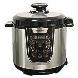 Best Electric Pressure Cookers - Brabantia BBEK1087 Electric Pressure Cooker, 6 Litre, 900 Review