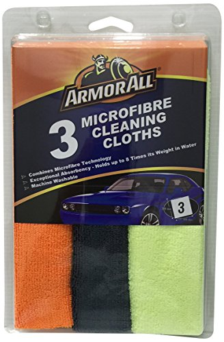 armor all microfiber cleaning cloth (set of 3) Armor All Microfiber Cleaning Cloth (Set of 3) 51Rm3 2BehBXL