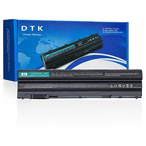 Dtk® Ultra Hochleistung Notebook Laptop Batterie Li-ion Akku für Dell E5420 E5430 E5530 E6420 E6430 E6520 E6530 Inspiron 4420 5420 5425 7420 7520 4720 5720 M421R M521R N4420 N4720 N5420 N5720 Vostro 3460 3560 [ 6-cell 11.1v 4400mah ]