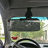 RISHIL WORLD Car Van Shade Sun Visor Extension Glare Mirror Window Sunscreen
