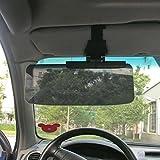 Alamor Car Van Shade Sun Visor Extension Glare Mirror Ventana Protector Solar