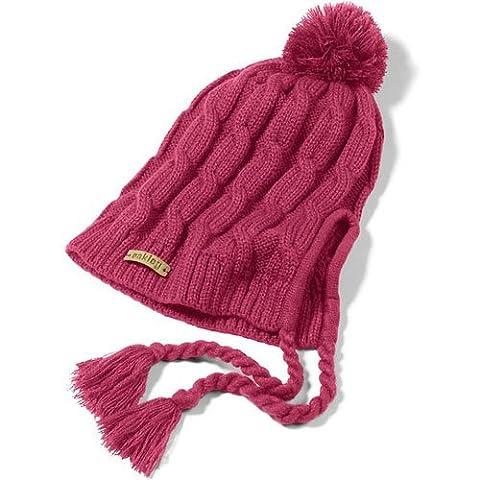 Oakley Damen Mütze Allee Earflap Beanie, mulberry, One size, 81409-82Z (Earflap Knit Cap)