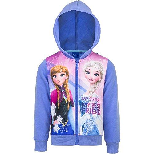 Frozen die Eiskönigin Kapuzenjacke Sweatjacke Gr. 116 (Minnie Mouse Kapuzenjacke)