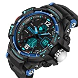 Happy Digital® Sports Watches LED Digital Military Watch 50m Waterproof Men Sport Digital Quartz watches