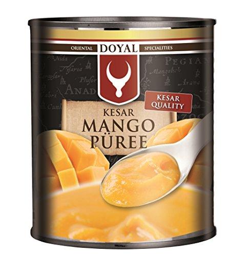 6er-PAck ~ DOYAL Mango Püree KESAR [6x 850g] pürierte Mango Kesar Quality (Pürierte Lebensmittel)