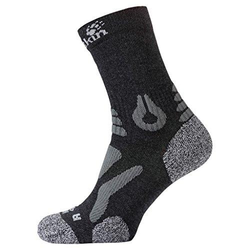 Preisvergleich Produktbild JACK WOLFSKIN Socken HIKING PRO CLASSIC CUT, dark grey, 47-49, 1904102-6320479