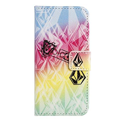 SainCat iPhone 5 / 5S / SE Custodia,Creative Disegno Stampa Libro Stile PU Leather Flip Chiusura Magnetica Protettiva Portafoglio Wallet in Pelle Stand Cover Case Con Funzione di Supporto e Morbido TP Diamante