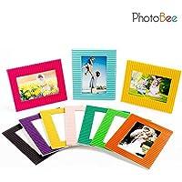 PhotoBee Marco de papel - Cartón corrugado de 10, 2 paquetes por juego, 20