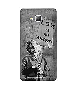Love is The Answer Samsung Galaxy A7 Case
