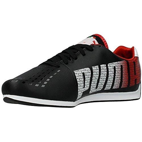 Puma Evospeed 1-3 Sf Volante, Baskets mode homme Noir, blanc et rouge