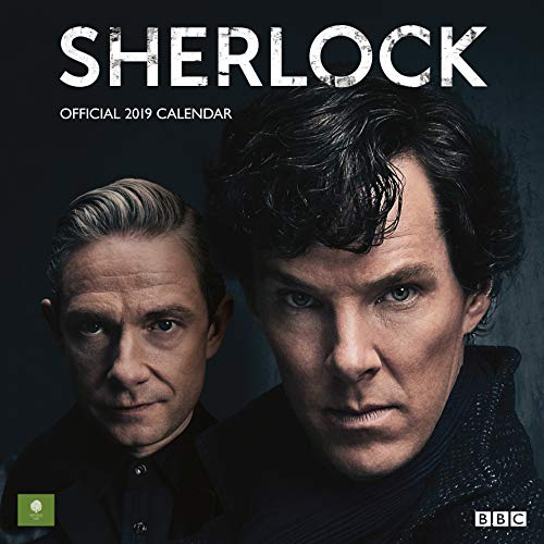 Sherlock Official 2019 Calendar - Square Wall Calendar Format par Sherlock