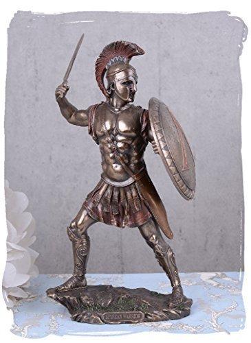 Krieger Figur Spartaner Antike Skulptur von Veronese signiert Palazzo Exclusiv
