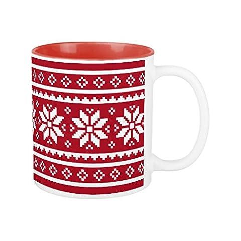 Unique Idée Cadeau de Noël pour hommes et femmes Funny Ugly Pull de Noël pour Cadeaux Motif tasse à café pour papa Mari anniversaire Gifts Dad Tasse de Noël Gifts Tasse 30cl