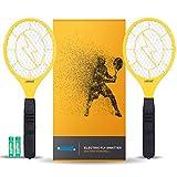 Ostad Bug Zapper Racket: électrique Fly & Mosquito Swatter Mini Portable alimenté...