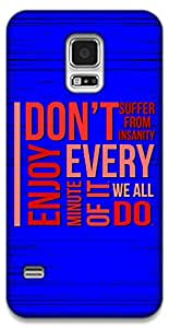 The Racoon Lean Insanity hard plastic printed back case / cover for Samsung Galaxy S5