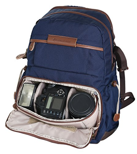 Vanguard Havana casual borsa a tracolla per fotocamera Brown 21 Bag Blue