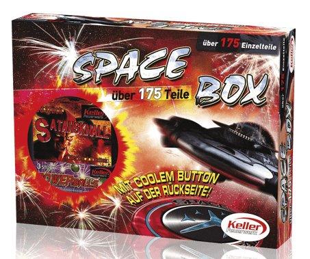 """Jugendfeuerwerk """"Spacebox Keller"""" 175 Teile thumbnail"""