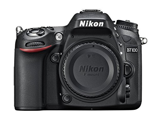 Nikon D7100 SLR-Digitalkamera (24 Megapixel, 8 cm (3,2 Zoll) TFT-Monitor, Full-HD-Video) nur Gehäuse schwarz (Generalüberholt)