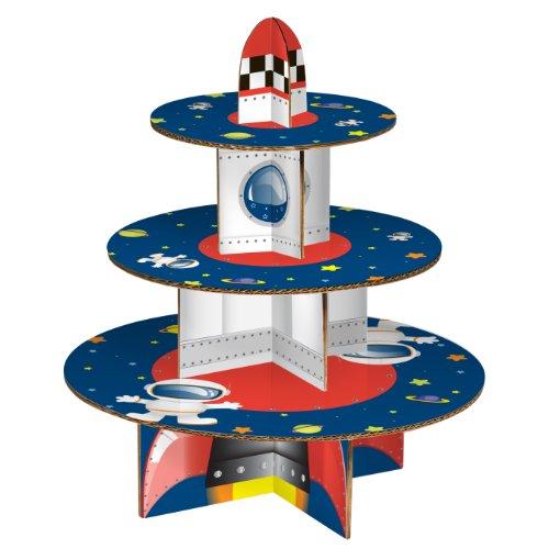 Premier Housewares Rocket 3-Tier Cake Stand