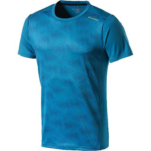 ENERGETICS Herren Francis T-Shirt, Petrol/AOP/Blue, S