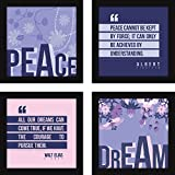 Best Frames With Quotes - Fatmug Synthetic Motivational Quotes Posters Wall Frames Review