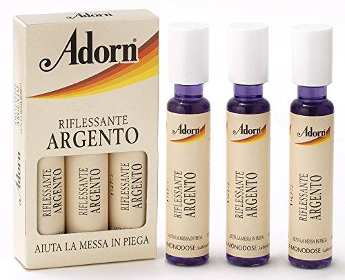 ADORN Fiale argento * 3 pz. - Fiale per capelli