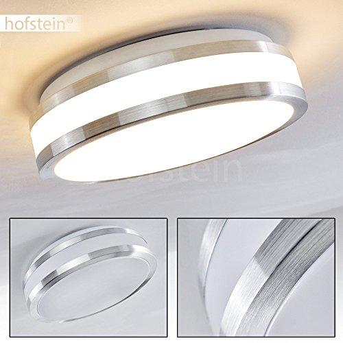 LED Leuchte für die Decke aus Metall in einem modernen Design – Helles warmweißes Licht für das Badezimmer – Das Wohnzimmer – Die Küche oder den Flur – Deckenlampe 880 Lumen 12 Watt 3000 Kelvin Küche Decke