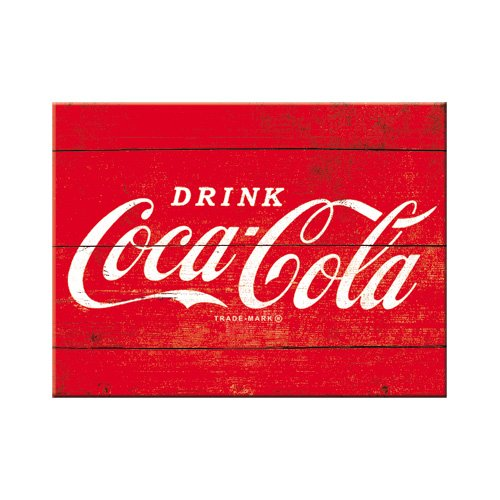Nostalgic-Art 14320 Coca-Cola Logo, rot