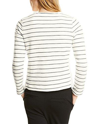 Street One Ltd Qr Marry, T-Shirt Donna Weiß (Off White 20108)
