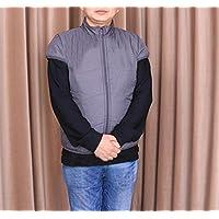 XYLUCKY Weste Baumwolle gefüttert für ältere, leichte ärmellose Jacke Outwear mit 2 Seitentaschen, winddicht,... preisvergleich bei billige-tabletten.eu