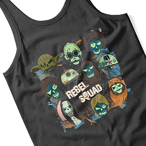 Rebel Squad Suicide Star Wars Men's Vest Black