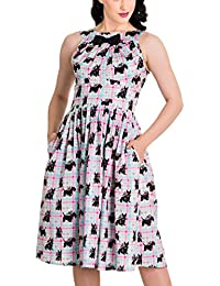 Hell Bunny Kleid SCOTTIE 50'S DRESS 4417
