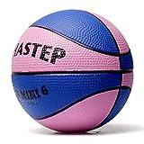 Vigoureux Mini-Basket Chastep 6 Pouces Balle en Mousse Doux et Plein d'entrain Non-Toxique Sûr de Jouer pour Les Cadeaux d'enfants(Blue-Rose, Blue-Rose)