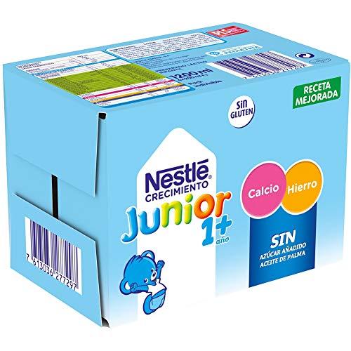 NESTLÉ JUNIOR 1+ Original - Leche para niños a partir de 1 año - 6x200ml