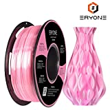 PLA Filamento 1.75mm Seda Rosa, Eyone Sedoso Brillante 3D Impresora Filamento PLA 1.75mm for 3D Impresoras and 3D Pen, 1kg 1 Carrete