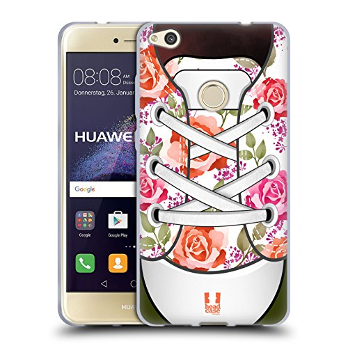 umig Schuh Kunst Kollektion Soft Gel Hülle für Huawei P8 Lite (2017) (Schuh-kollektion)