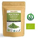 Tè Verde Matcha Biologico in Polvere [ GRADO PREMIUM ] da 200 grammi | The Matcha Prodotto in Giappone Uji, Kyoto | Ideale da Bere, per i Dolci, Frullati, Tè freddo, nel Latte e come ingrediente.