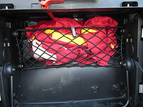 Rete 'a parapetto' per valigia Vario SINISTRA moto BMW R 1200 GS, modelli prodotti dal 2004 al 2012.