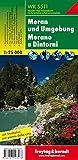 Meran und Umgebung, Wanderkarte 1:25.000, WK S511: Wandel- en fietskaart 1:25 000 (Freytag und Berndt Wanderkarten Südtirol)