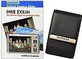 Foto Kamera Tasche VANTAGE ULTIMATE Leder plus Fotobuch Ihre Casio Exilim EX- N1 N10 N5 N50 QV- R200 R300 ZS30 Z690