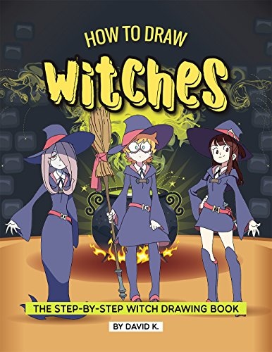 How to Draw Witches: The Step-by-Step Witch Drawing Book (English Edition)