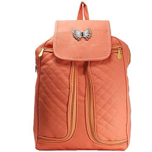 TYPIFY® Designer High Quality Backpack Purse for Women, Fashion PU Shoulder Bag Handbags for College Office Bag Girls