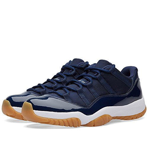 Nike Air jordan 11 retro low, chaussures de sport - basketball homme bleu marine